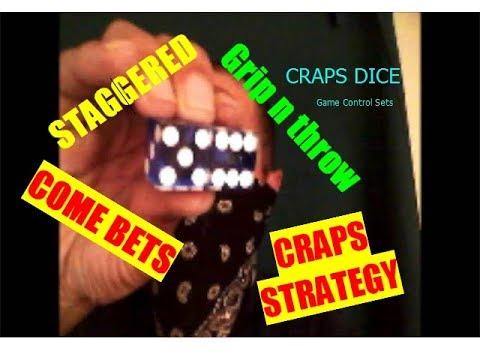 Craps Dice game control sets, Craps Strategy