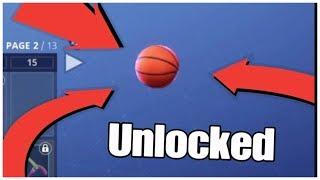 Finally got the toy Basketball Unlocked - Fortnite gameplay
