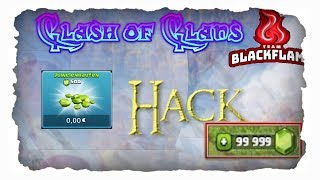 Clash of Clans HACK (fake?) | Team-Blackflame