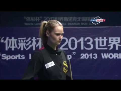 9 Times Women World Snooker Champion | Reanne Evans vs Zhu Yinghui Wuxi