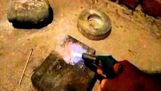 ПАМ и гипсовая штукатурка. Magnalium and plaster(ПАМ и гипсовая штукатурка., 2011-10-18T20:22:49.000Z)