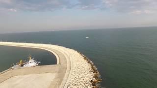 mersin marina drone çekimi