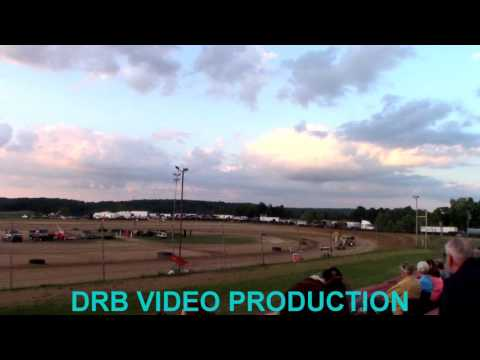 Marion Center Speedway 8/12/17 Mirco Sprint Heat 1 of 3