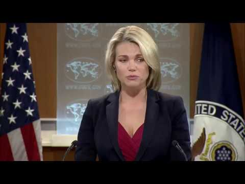 US State Department Spokesperson Heather Nauert Statement on Release of US Citizen Otto Warmbier