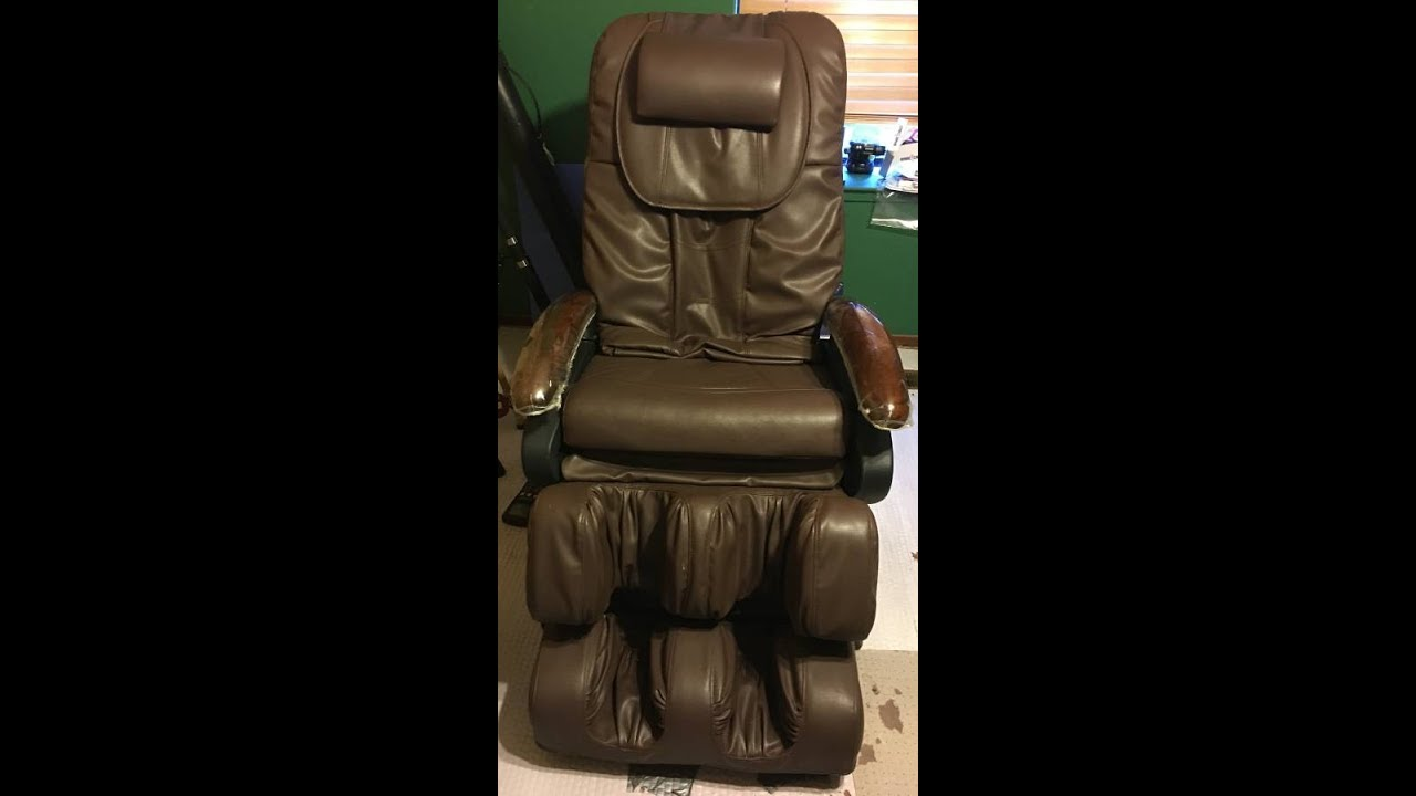 Omega M5000 DLX Massage Chair Air Bag System Repair