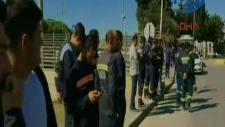 Tüpraş Rafinerisinde iş kazası