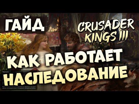 КАК РАБОТАЕТ НАСЛЕДОВАНИЕ | Гайд по Crusader Kings III