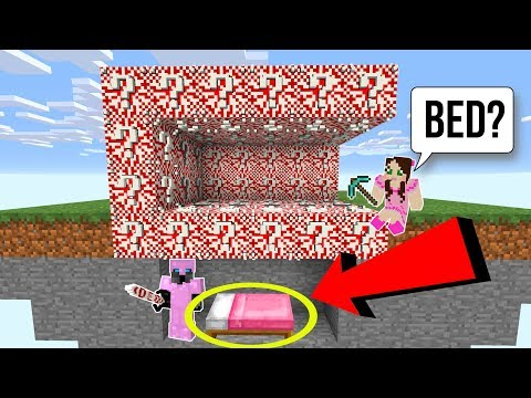 Minecraft: *EXTREME* CANDY LUCKY BLOCK BEDWARS! - Modded Mini-Game