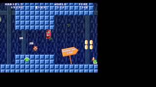 Первый взгляд на игру Super Mario Bros 3 на компьютере