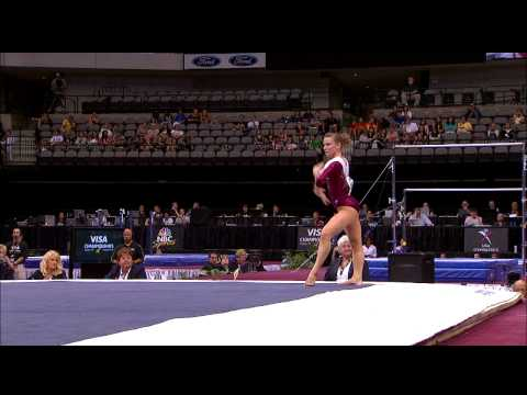 Bridget Sloan - Floor Exercise - 2009 Visa Championships - Women - Day 2