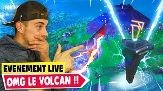🔴L'ÉRUPTION DU VOLCAN ET LA FIN DE TILTED TOWER ARRIVE ?! LIVE FORTNITE FR !