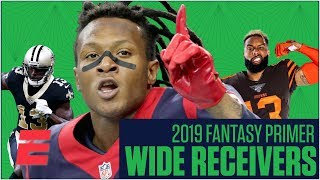 The best fantasy wide receivers and sleepers for 2019  Fantasy Football Primer