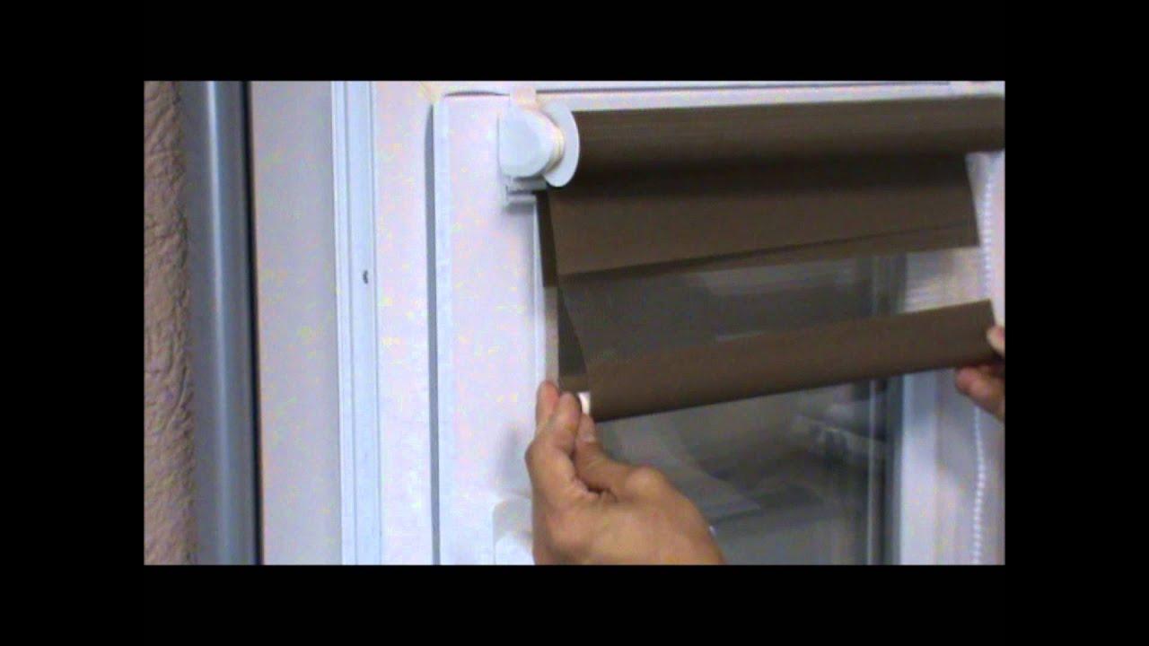Рулонные шторы День-Ночь для окон от JB Production - YouTube