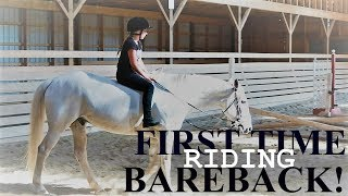 FIRST TIME RIDING BAREBACK Day 199 (07/19/17)