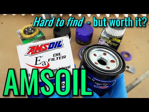 AMSOIL Oil Filter Cut Open! | vs. Mobil-1/Royal Purple