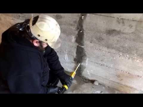 Seal Wet Leaky Cracks Fast Permanent Sika Sikadur Victoria BC