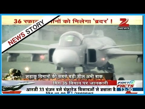 Tough competition between Russia-America to sell fighter jets to India