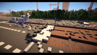 Minecraft сериал  'Чужая война' 7 серия  Minecraft Machinima