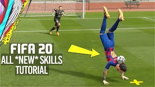 FIFA 20 | ALL NEW SKILLS TUTORIAL [PS4/XBOX ONE]