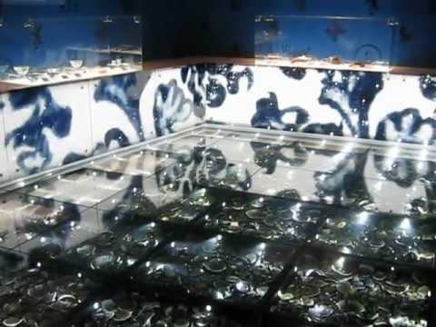 Porcelain Art: Ming Pottery Fragments display