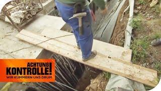 Lebensgefährliche Baustelle: Gewerbeaufsicht findet überall Mängel! | Achtung Kontrolle | kabel eins