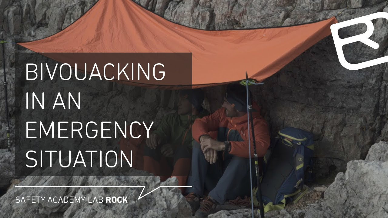 Bivouacking in an emergency situation