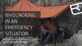 Bivouacing in an emergency in the mountain - Tutorial