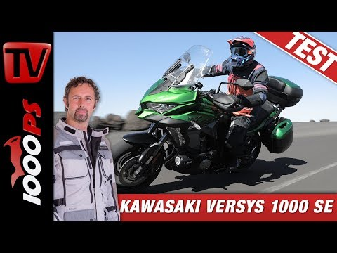 Insel-Hopping deluxe! Die neue Kawasaki Versys 1000 SE im Test