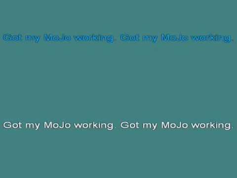 Muddy Waters   Got My Mojo Working [karaoke]
