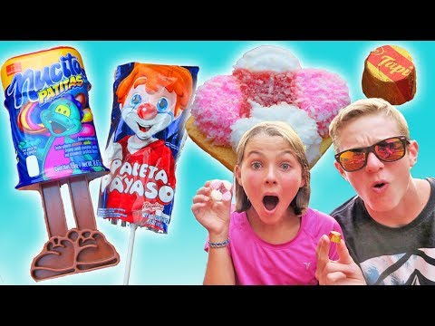 American Kids Trying Costa Rica Candy | Ava and Brothers Taste Test | Kids Cooking and Crafts