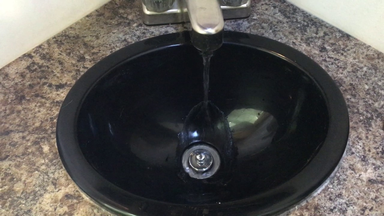 Sink water pulsing and water pump pulsing - YouTube