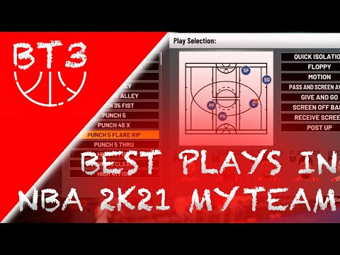 NBA 2K21 MYTEAM - THE BEST PLAYBOOKS IN THE GAME! SECRET QUICK THRU STS!