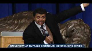 Neil deGrasse Tyson at UB: What NASA Means to America
