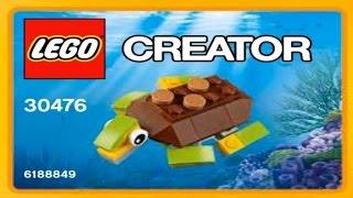 Lego Creator 2017 Happy Turtle 30476