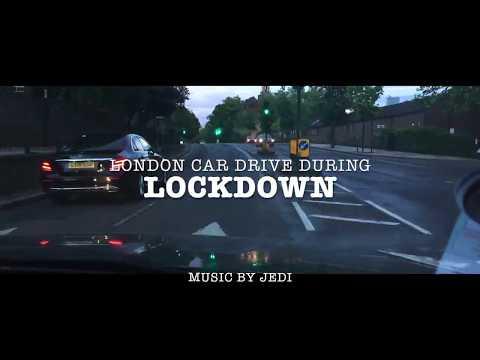 LONDON LOCKDOWN CAR DRIVE | City of London | Driving Downtown England | United Kingdom | 2020
