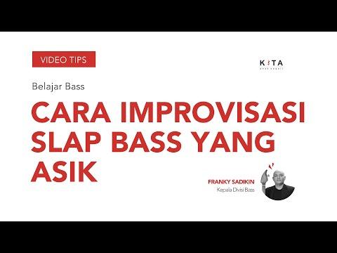 Belajar Bass : Franky Sadikin - Improvisasi slap bass