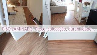 Tudo sobre piso laminado - Eucafloor prime cappuccino