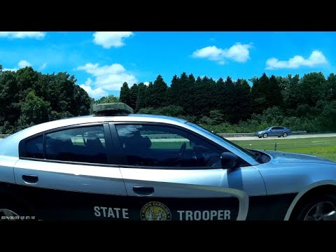 "North Carolina State Highway Patrol ""SHP-338"" Speeding towards the Training Center"