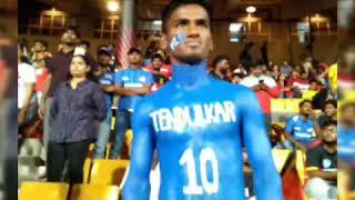 Sachin Tendulkar Fan Full Body Painting. Cricket Fans Must Watch. Special Video For Sachin Fans