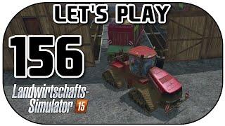 Let's Play Landwirtschafts Simulator 2015 Part 156 Stroh auffüllen