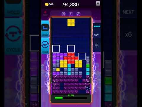Let's play tetris blitz