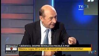 Romania9 - invitat Traian Basescu (a doua parte)