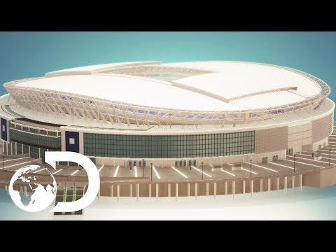 How To Build A Football Stadium | How To Build Everything