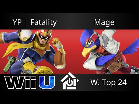 Heart of the South 2017 - YP | Fatality (Captain Falcon) vs Mage (Falco) - Smash 4 W. Top 24