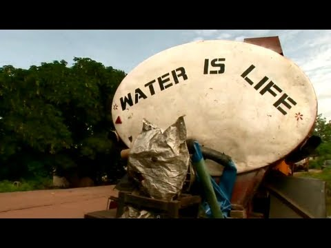 What Causes Water Shortages in Nigeria and Ghana?