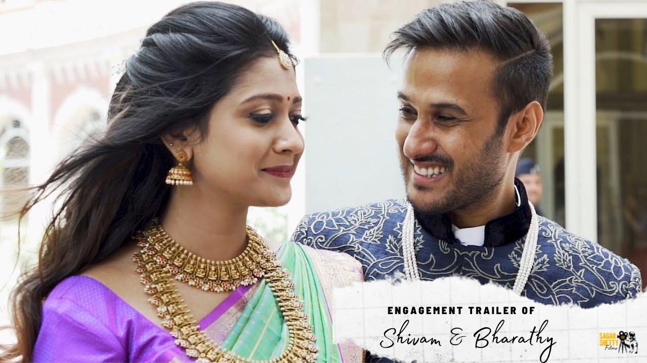 Shivam & Bharathy | Engagement Trailer | Sagar Shetty Films