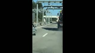 MOMENTO INSÓLITO NA A25 (Portugal)! SÓ VISTO.