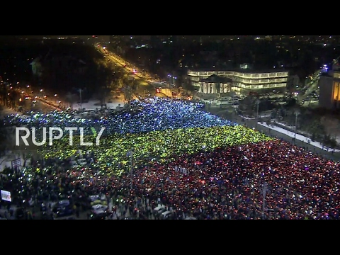LIVE: Anti- corruption protests set to continue in Bucharest