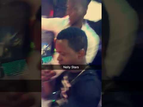 nelly Star il a fait un show au Gabon ici au port gentil VIP diamant