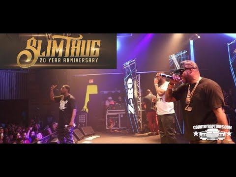Slim Thug, Z Ro, Willie D, J Dawg, Killa Kyleon, ESG, Big Pokey, Lil O (LIVE) 20th Anniversary